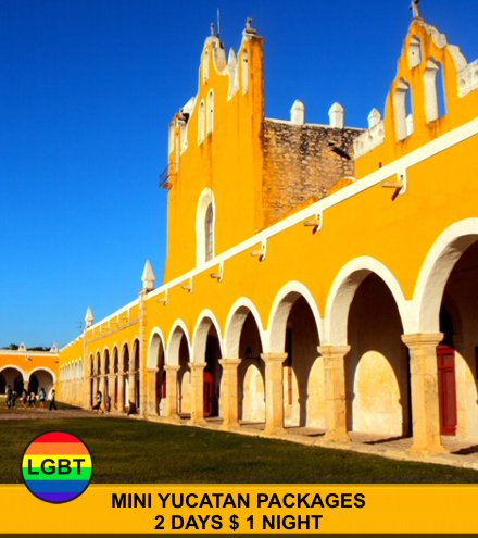 Mini Package for Gays in Cancun Yucatan