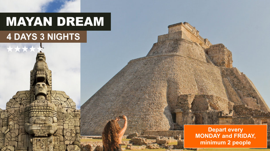 Mayan Expeditions Dream 4 days